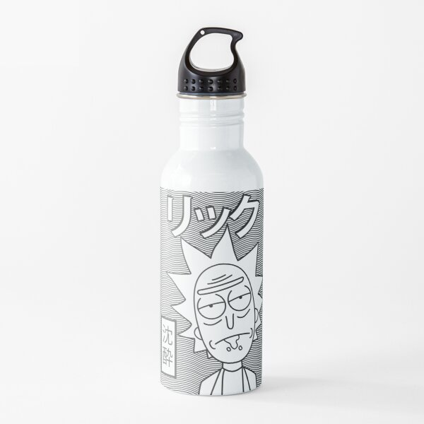 Rick and Morty | Retro Japanese Rick  Water Bottle
