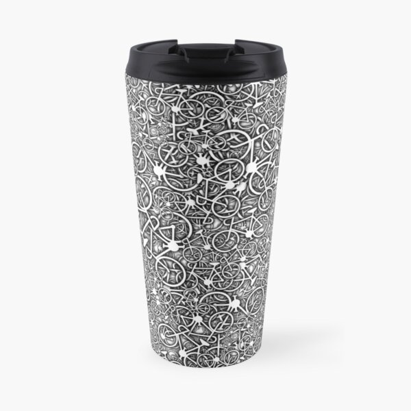 Tangled Up In Bicycles Travel Mug