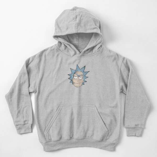 Rick and Morty | Gritty Rick Kids Pullover Hoodie