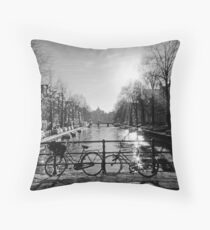Amsterdam seduction Throw Pillow