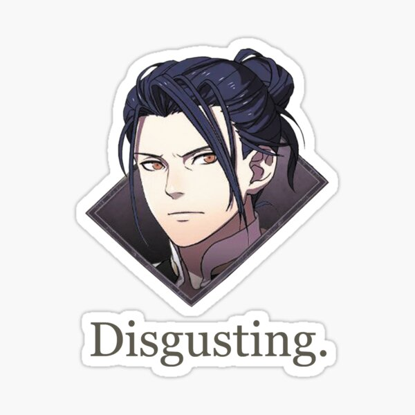 Felix Disgusting V2 Sticker