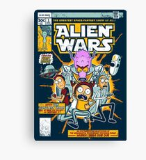Alien Wars Canvas Print