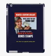 Wanted - Fighting Dollars - WW2 iPad Case/Skin