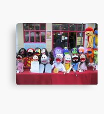 muppet heads Canvas Print