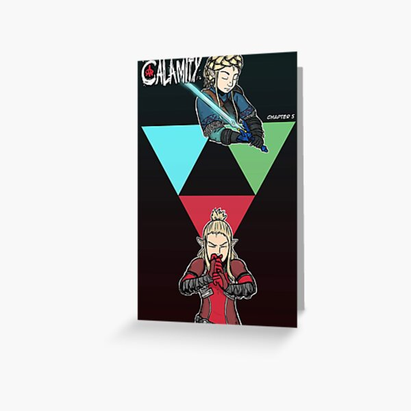 A New Calamity Chapter 5 Cover Greeting Card