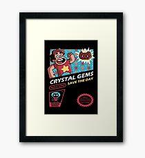 Crystal Gems Framed Print