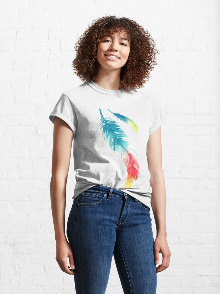 Alternate view of Feather Classic T-Shirt