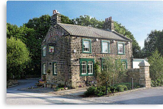 The Railway, Rodley by Colin Metcalf