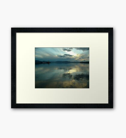Afterglow (1) Framed Print