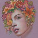 Goddess of Autumn by Karen  Hull