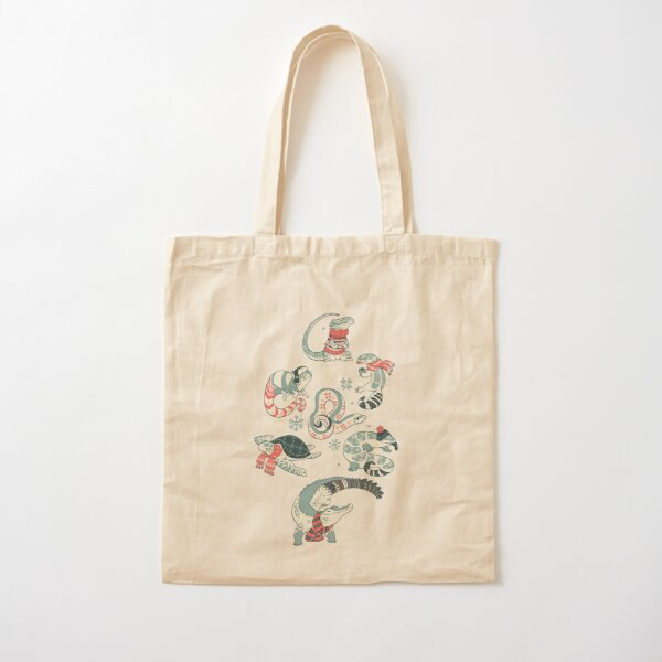 Winter herps Cotton Tote Bag