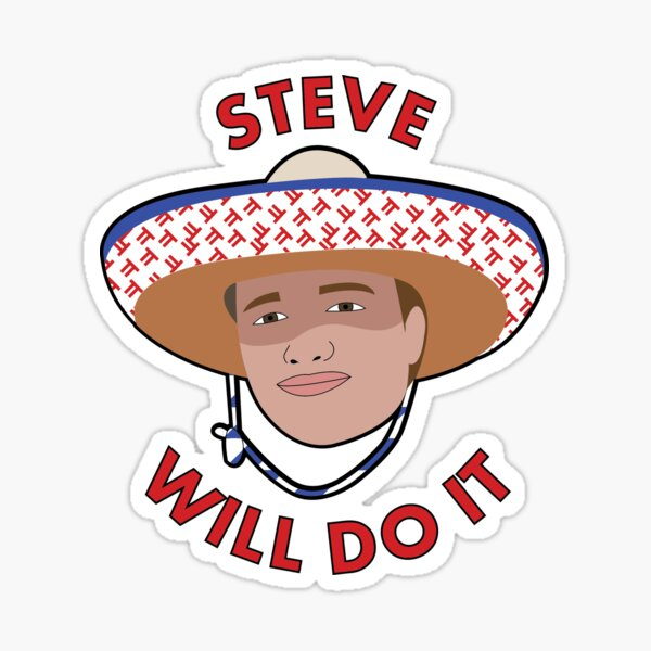 Steve Will Do It Sticker By Stephparker Redbubble Stephen deleonardis (born august 26, 1998), better known as stevewilldoit, is an american youtuber and entertainer known for his extreme challenge videos.1 in addition to his independent ^ steve will do it, el hombre que puede comer cualquier cosa. redbubble