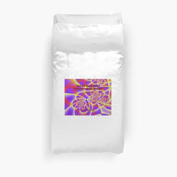 And The Word Of God Duvet Cover