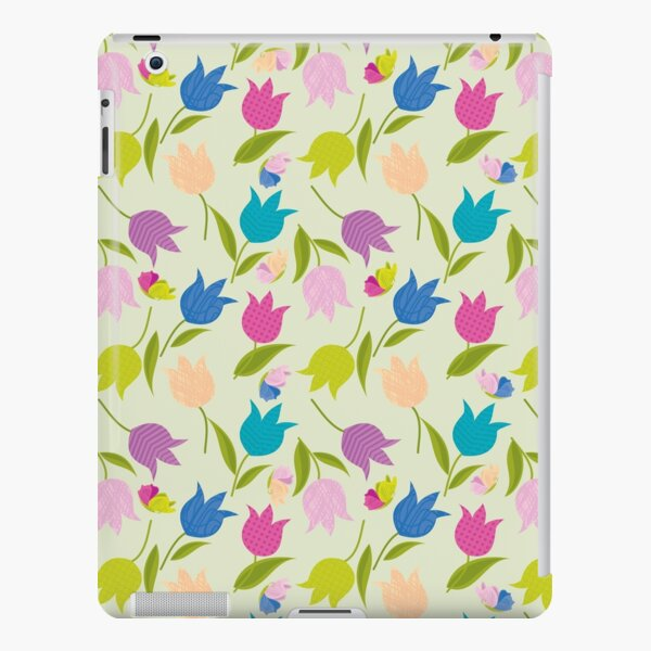Decorative Tulips Pattern iPad Snap Case