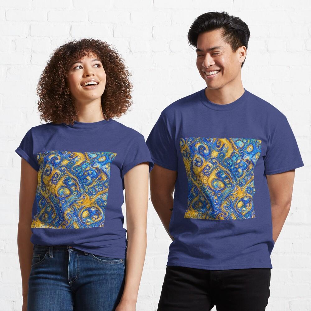 Deep Dream abstraction Classic T-Shirt