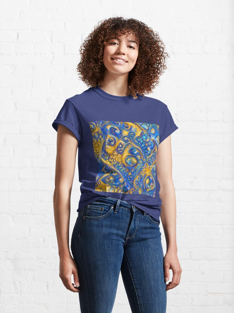 Alternate view of Deep Dream abstraction Classic T-Shirt