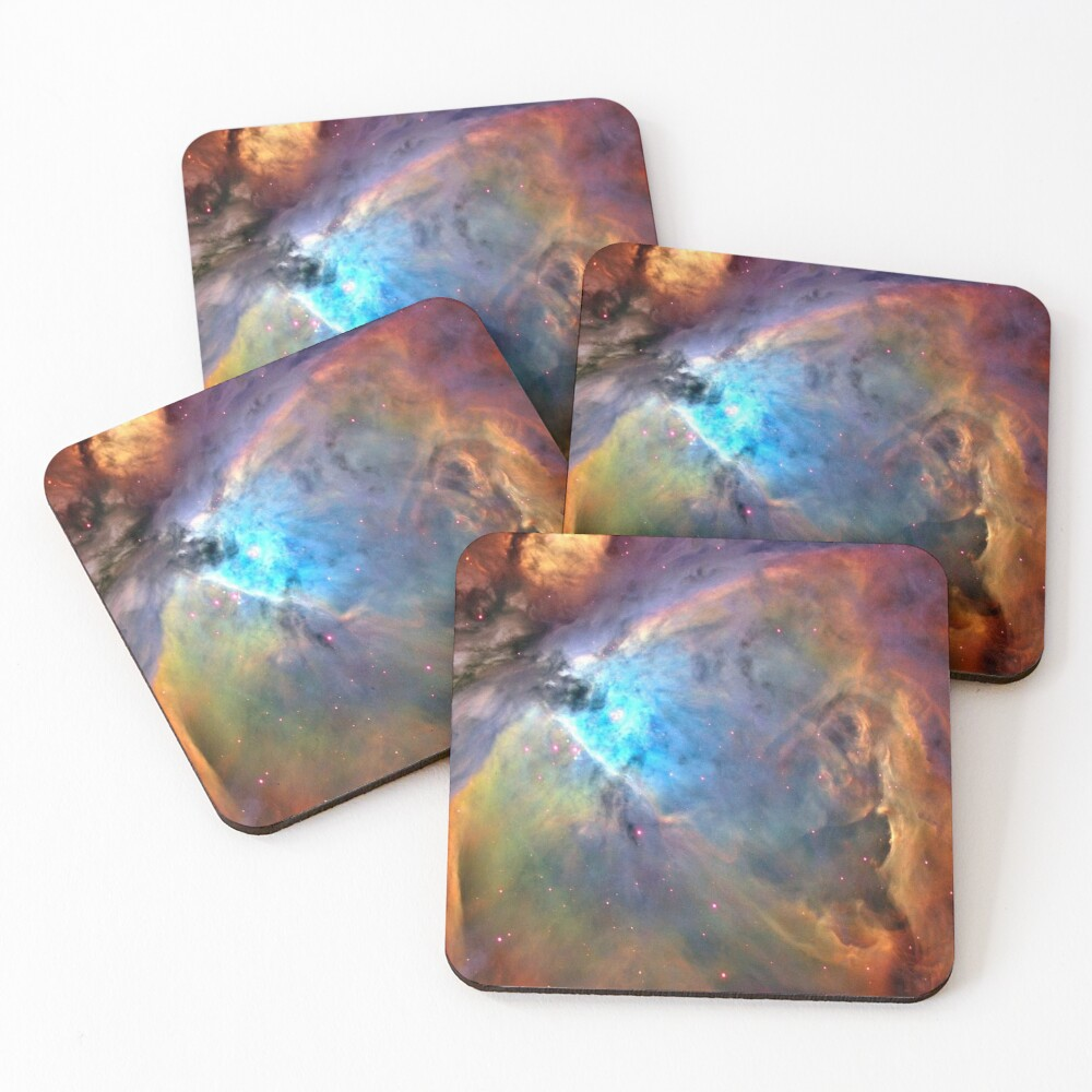 Orion Nebula Space Galaxy, RBSSG Coasters (Set of 4)