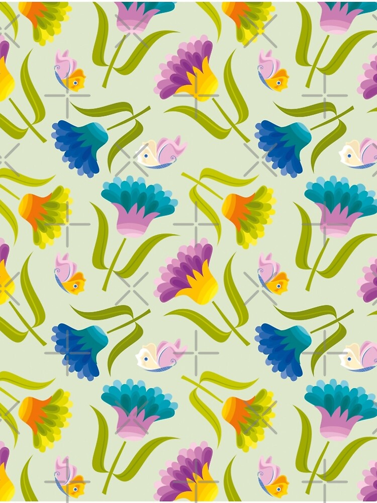 Beautiful Floral Pattern by rusanovska