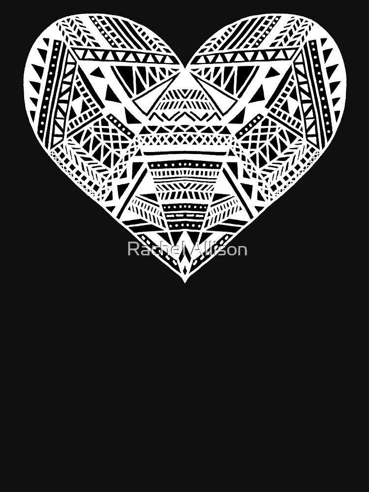 Patterned Heart by rachelallison