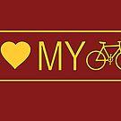 i love my bike by bicyclegood