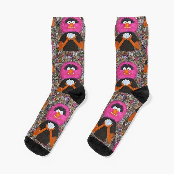 Self Portrait As Muppet Socks