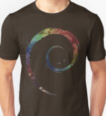 Colorful Debian Unisex T-Shirt