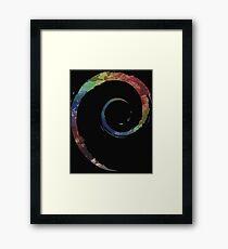Colorful Debian Framed Print