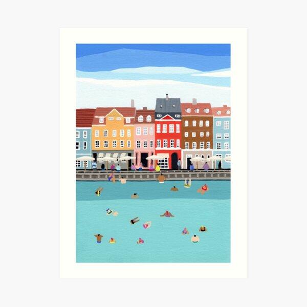 Waterfront Art Print