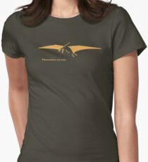 Pteranodons Are Cool (Dark Shirt 2) Womens Fitted T-Shirt