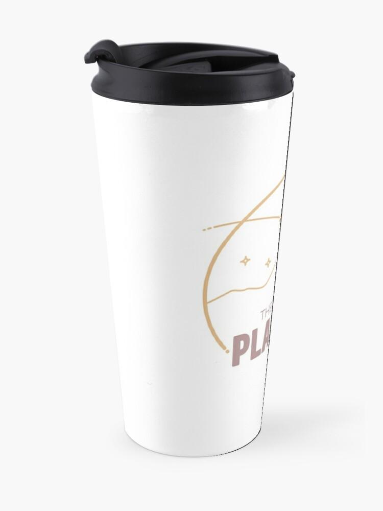 Alternate view of Journey to Planet B! Travel Mug