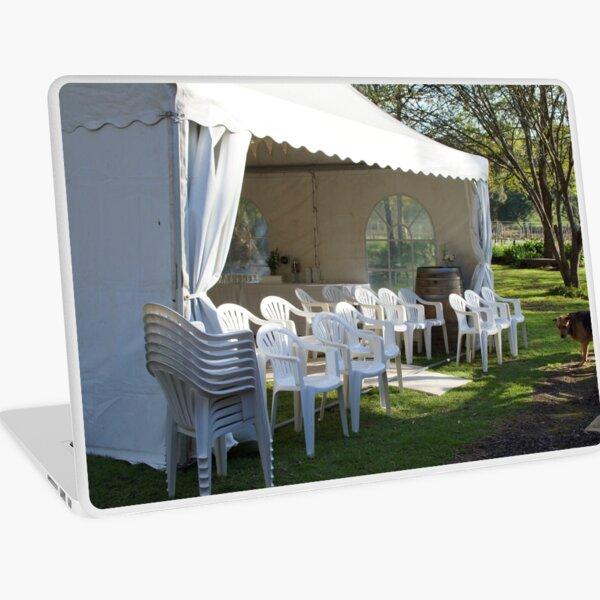 Winter Wedding  - Adelaide Hills Wedding, Fleurieu Peninsula Wedding by South Australian artist Avril Thomas Laptop Skin