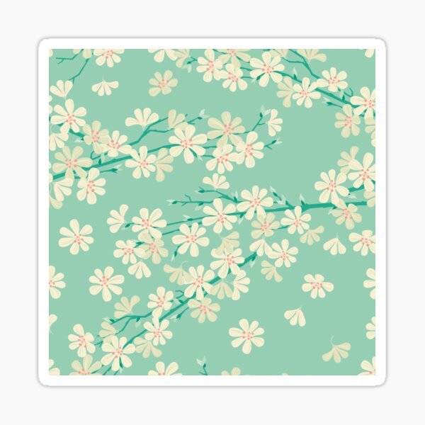 Fresh Spring Glossy Sticker