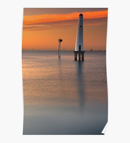 Dawn at Port Melbourne #2 Poster