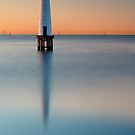 Dawn at Port Melbourne #3 by Jason Green