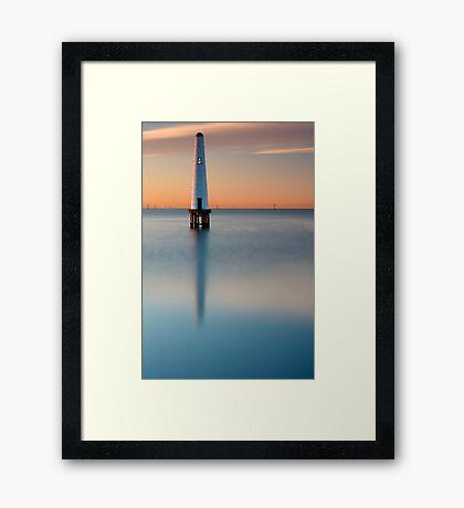 Dawn at Port Melbourne #3 Framed Print