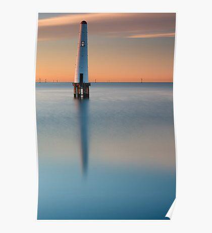 Dawn at Port Melbourne #3 Poster