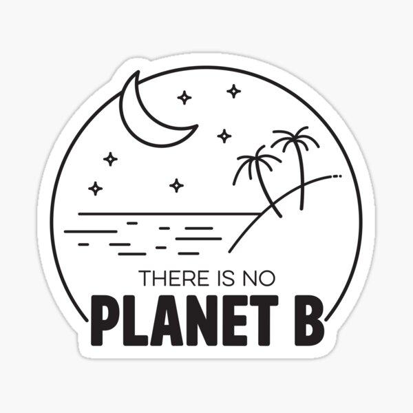 No Plan B - Black Sticker