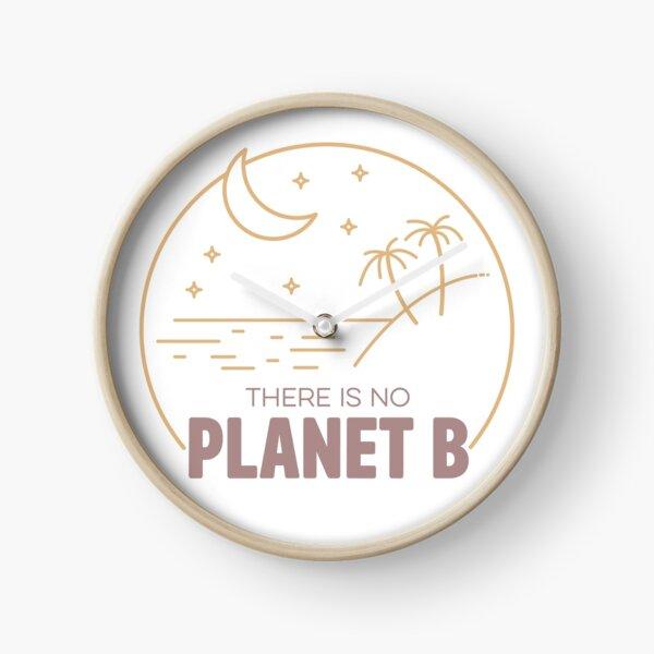 No Plan B for Earth! Clock