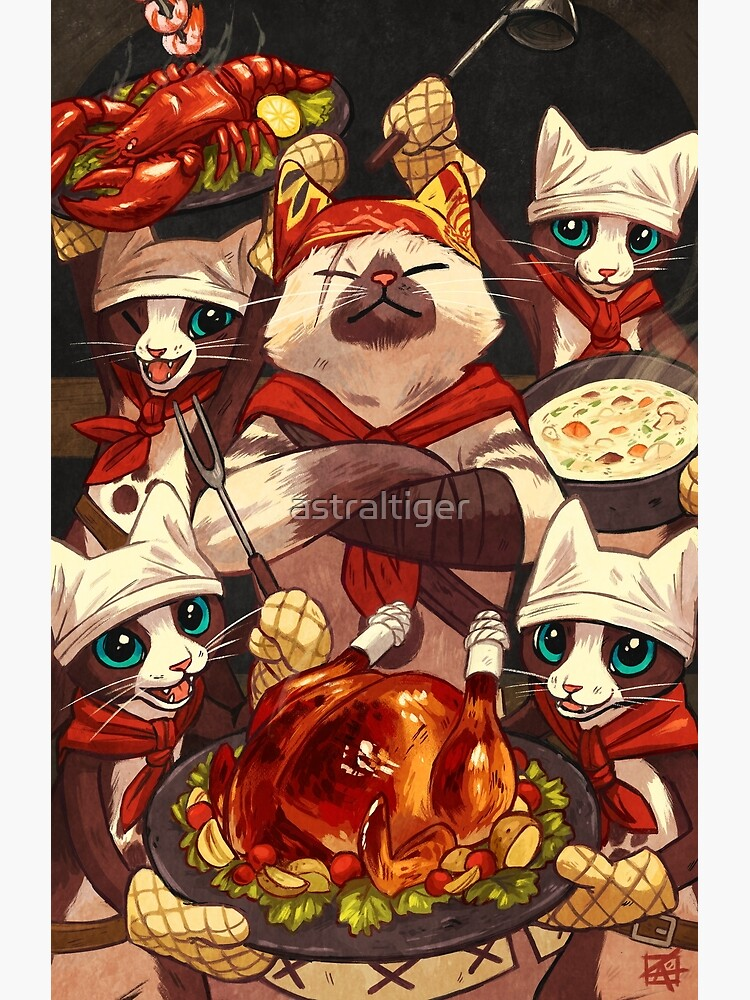 Palico Chefs by astraltiger