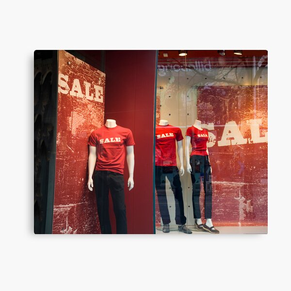Sale Sale Sale 0112 Canvas Print