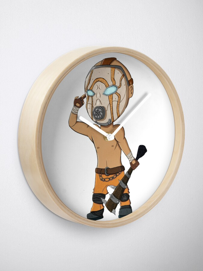 Alternate view of Borderlands psycho Clock