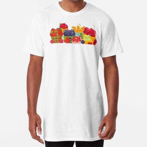 Fruits Market Long T-Shirt