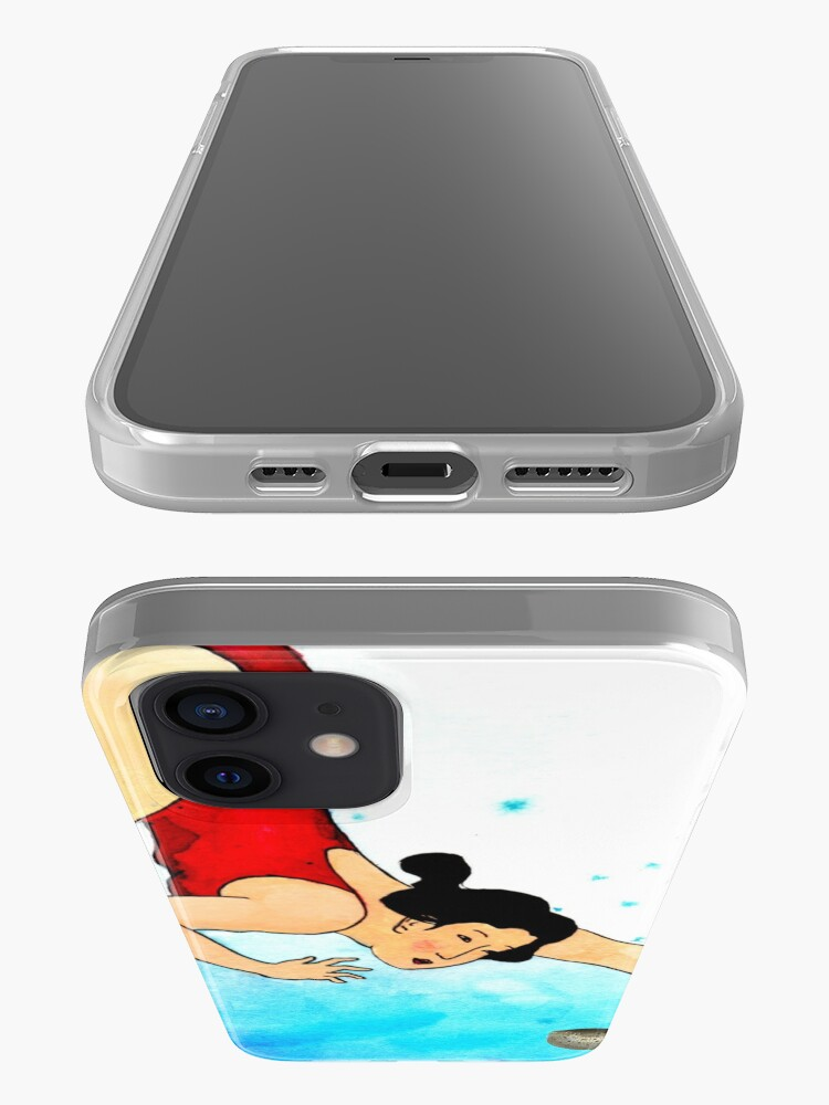 Alternate view of Mrs Hiroshige Diving At Julian Rocks iPhone Case & Cover