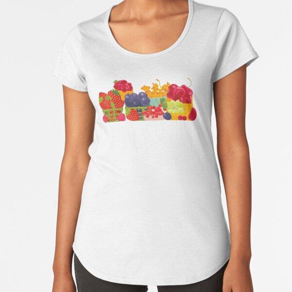 Organic Farm Premium Scoop T-Shirt