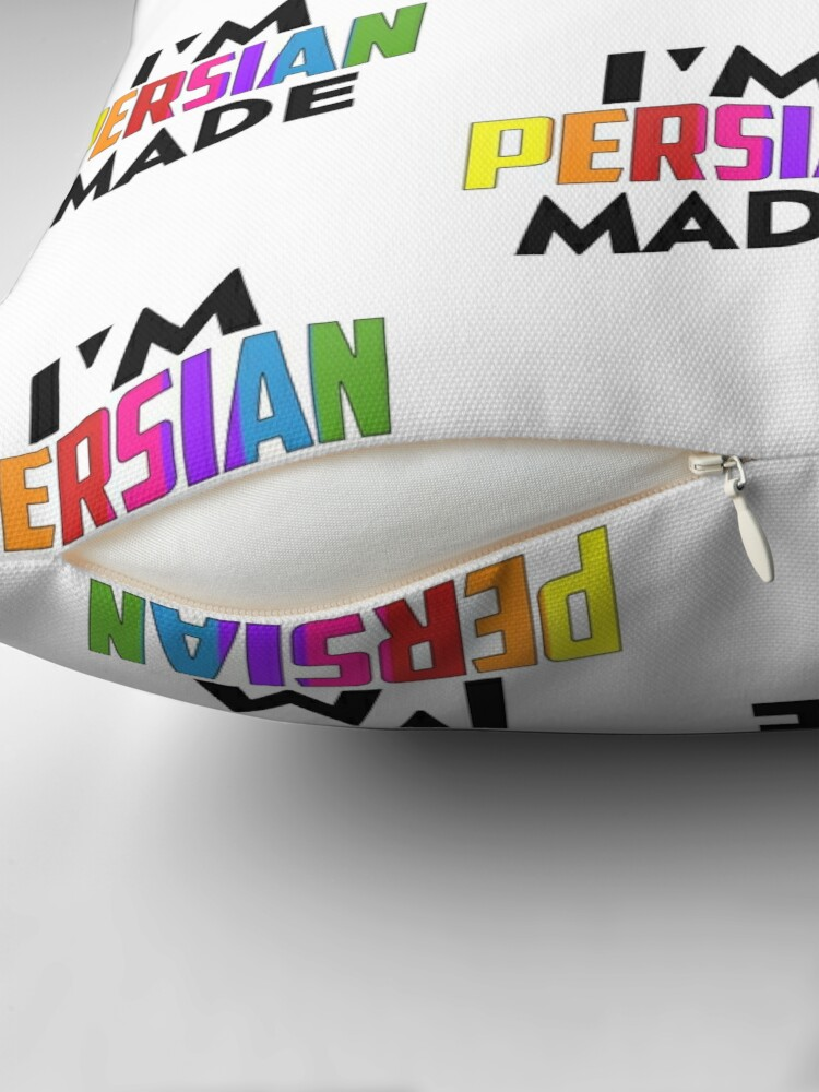 Alternate view of I'm Persian Made Floor Pillow