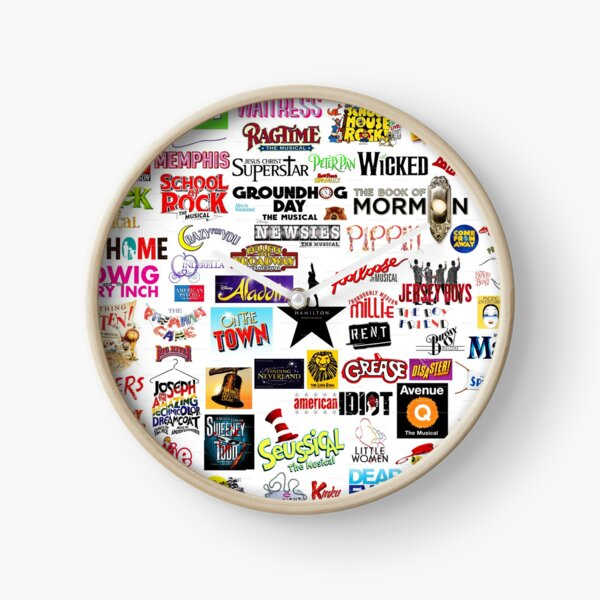 Musical Logos Clock