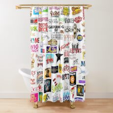 Musical Logos Shower Curtain