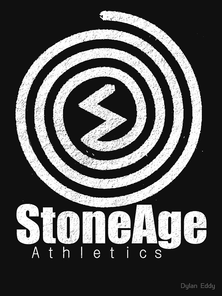Stoneage athletics logo by djupitere