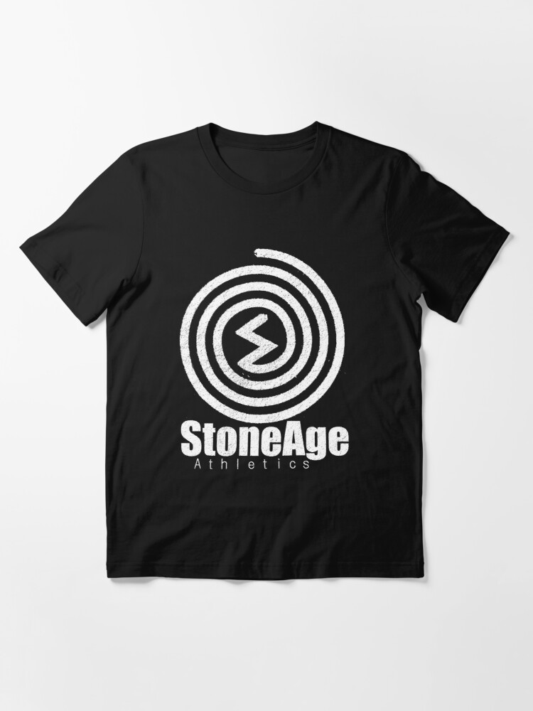 Alternate view of Stoneage athletics logo Essential T-Shirt