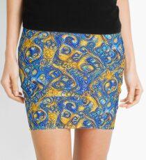 Deep Dream abstraction Mini Skirt